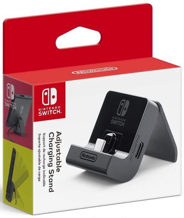 Soporte de carga ajustable del interruptor de Nintendo
