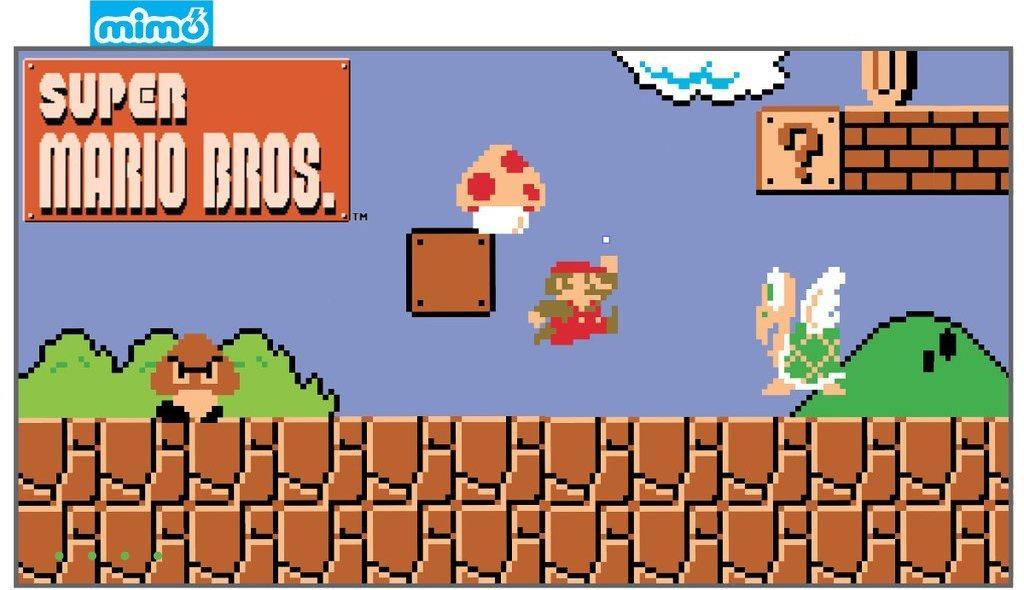 Super Mario MimoPowerDeck. Cortesía de Mimoco.com