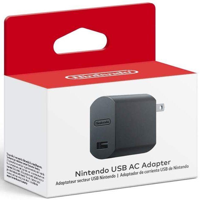 Adaptador de CA USB de Nintendo