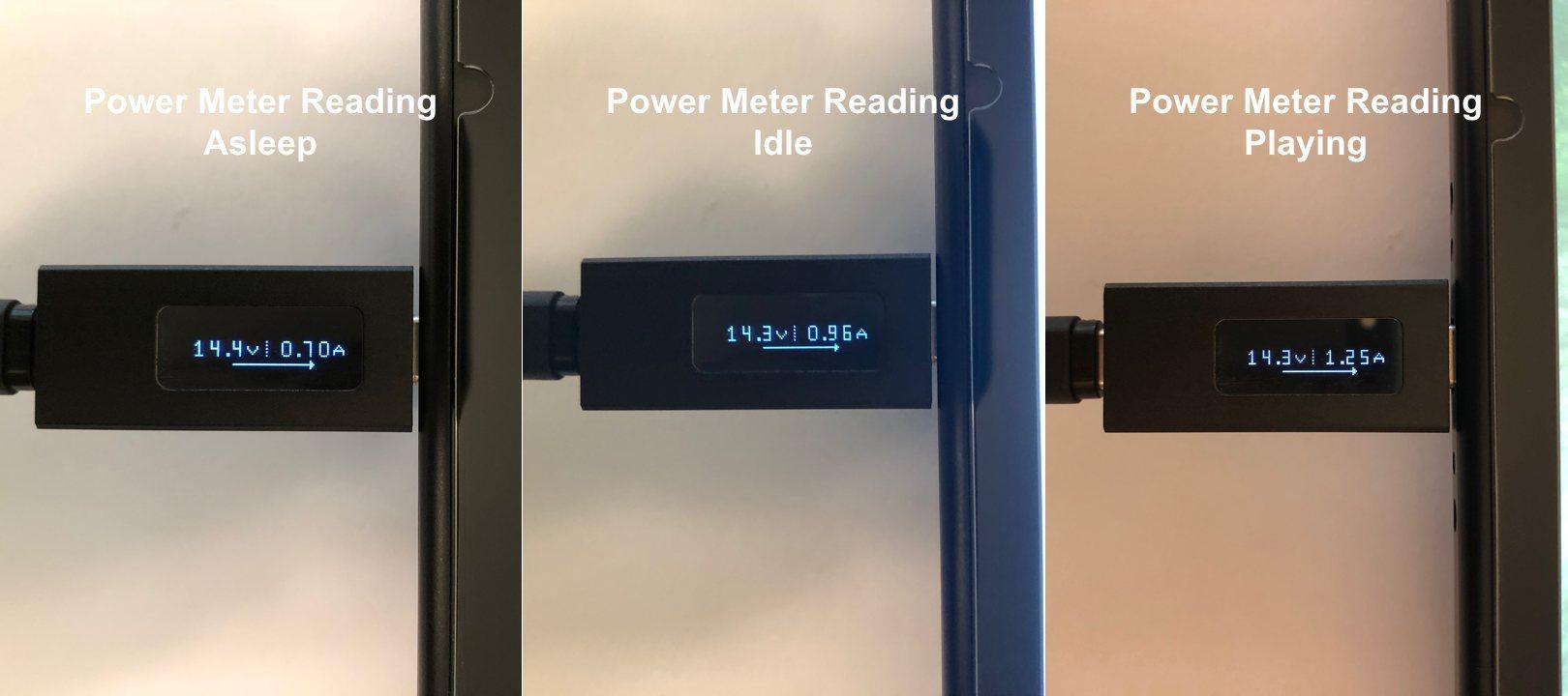 dodocool 20100 45W lecturas del medidor de potencia PD tipo C